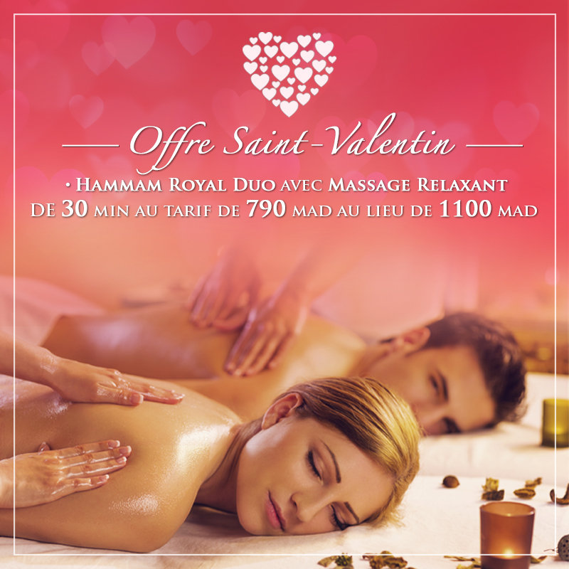 promotions massages, hammam casablanca, massage casablanca, promotion hammam, masseuse casablanca, pauvre saint valentin